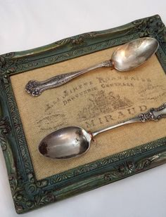 Kitchen Art Print Upcycled Silverware Fork Spoon Knife