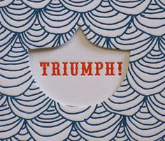love me some letterpress goodness