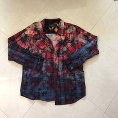 Tops - Vintage Acid Wash Flannel