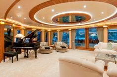 Most Luxurious Yachts in the World: 282′ Quattroelle http://www.e-njoy.us/most-luxurious-yachts/