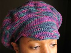 Yarn Obsession: Free Crochet Pattern - Funky Hat (I made it without the brim)