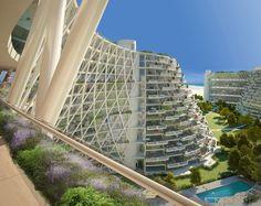 Moshe Safdie Designs Golden Dream Bay in Qinhuangdao, China