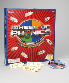 Take a look at this Wheel of Phonics Game by Junior Learning on #zulily today!