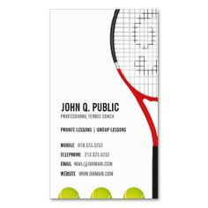 Leaflet design for private Tennis coaching for kids by www