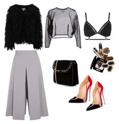"""""""Untitled #209"""" by lisathephillygirl on Polyvore featuring Vilshenko, Yves Saint Laurent, Boohoo, Topshop and Dry Lake"""