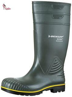 Dunlop Purofort Multi Grip Safety Vert, travail Bottes en caoutchouc, 42