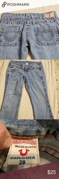 Women's True Religion jeans True Religion boot cut jeans in good condition! True Religion Jeans Boot Cut