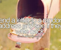 *Bucket List For Girls*