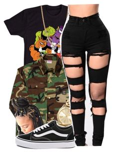 """Lust✨[Lil skies]"" by maiyaxbabyyy ❤ liked on Polyvore featuring Pointer Brand, MICHAEL Michael Kors, Vans and Givenchy"