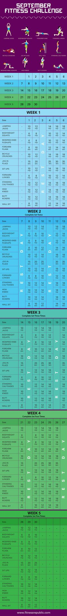 September Fitness Challenge | Fitness Republic