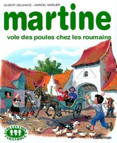 Martine vole des poules chez les Roumains