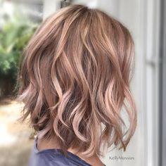 "460 Likes, 18 Comments - •Kelly Massias• (@kellymassiashair) on Instagram: ""Soft Cool Rose #KellyMassiasHair #btconeshot_hairpaint16"""