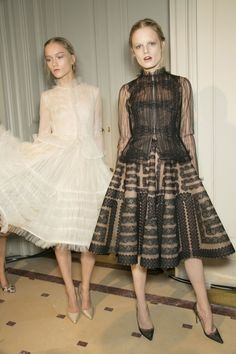 195 backstage photos of Valentino at Couture Spring 2013.