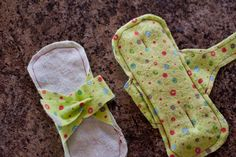 Making Your Own Reusable Pads > Life Your Way Fabric Crafts, Sewing Crafts, Sewing Projects, Sewing Ideas, Feminine Pads, Days For Girls, Period Pads, Sanitary Towels, Mama Cloth