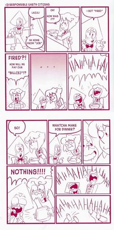 A comic from one of those exclusive SDCC 'zines the Crewniverse made. I guess that makes this at least semi-canon!