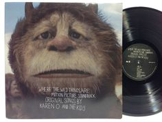 Karen O Where the Wild Things Are Soundtrack Vinyl Yeah Yeah Yeahs Vinyl Record