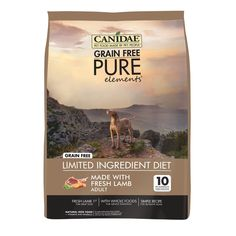 CANIDAE Grain Free PURE Dry Dog Food >>> See this awesome image  : Best dog food