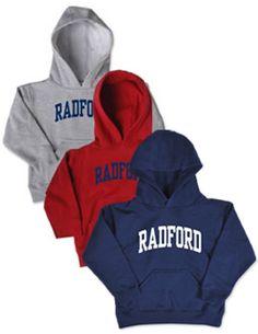 Product: Radford University Toddler Hooded Sweatshirt