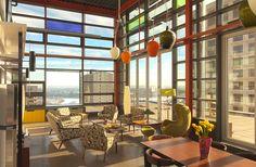 Cambridge Lofts Edmonton By Manasc Isaac Architects Types Of Architecture Pent