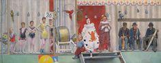 Art History News: Seurat's Circus Sideshow