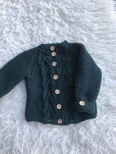 Hæklet Baby Cardigan – Luksuskrea – Hækling og strik