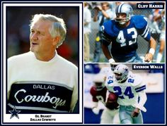 TSHOF Class of 2015: Gil Brandt, Cliff Harris, and Everson Walls