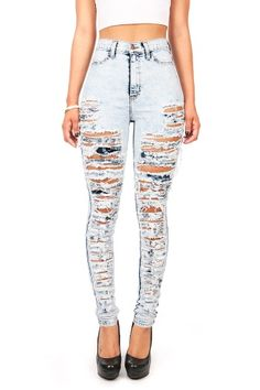 Shredded Boyfriend Jeans $ 37.99 Low rise baggy boyfriend style ...