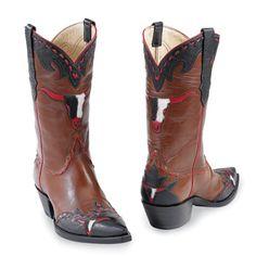 3530edecb2b98e Little Longhorn Boot Westernstiefel