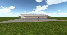 Cool 3D #marketing http://ift.tt/2At3Rgm #barn #workshop #greenhouse #garage #roofing #DIY