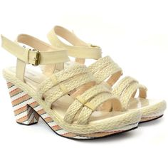 Up Wedges - Cole Beige