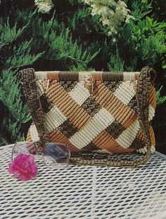 Linda's Family of Macrame Purses Patterns & by KingsKountry