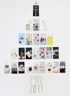 clever photo advent calendar // Griottes