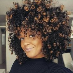 Blonde highlights and lowlights on natural hair curls natural curl crushing on hennalice gorgeous color curlygirl teamnatural bighair pmusecretfo Choice Image