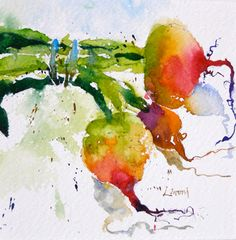 the moon from my attic: Enchanting Watercolors by Artist Lisa Livoni