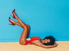 Solange Knowles for Complex Magazine by Julia Galdo, via Behance