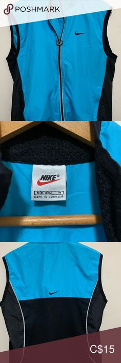 Ladies Nike vest Blue and black ladies Nike vest Nike Jackets & Coats Vests