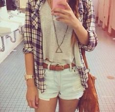 Cute Hipster Outfits For Girls: As you can see cute hipster outfits celebrate the unique and individual person you are. But before you let yourself go berserk with cute hipster outfits, do consider what touches will work with the way you look. Girl Outfits, Casual Outfits, Summer Outfits, Fashion Outfits, Summer Clothes, Fashion Clothes, Vegas Outfits, Fashion Shorts, Beach Clothes