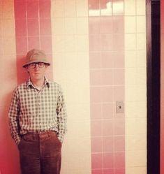 Woody Allen, 1981, by Annie Leibovitz.