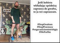 Marcin Michalski - Razem przeciw kulturze gwałtu! #StopGwaltom #StopPrzemocy #HeForShe #ozgecanicinminietekgiy