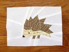 Hedge Hog -- Free paper-piecing pattern from Artisania Free Paper Piecing Patterns, Quilt Block Patterns, Quilt Blocks, Paper Patterns, Animal Quilts, Foundation Paper Piecing, Quilt Tutorials, Craft Tutorials, Craft Ideas