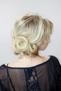 Wedding hair!