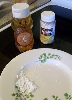 Cheap Wife: Homemade Face Mask: Aspirin & Honey