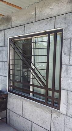 Home Gate Design, Gate Wall Design, Window Grill Design Modern, Grill Gate Design, House Window Design, Front Gate Design, Wooden Front Door Design, Main Door Design, Grill Design