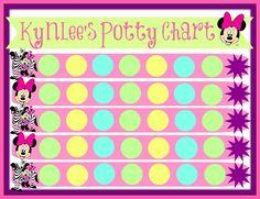 New Free Disney Princess Potty Training Chart From PullUps Reward