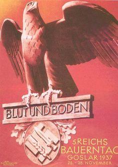 .Sangre y Tierra. propaganda Poster