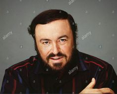 "Luciano Pavarotti opera singer""For Editorial Use Only""."