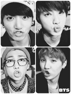 BTS | BANGTAN BOYS...Jungkook, Jin, Rapmon, and Suga