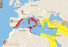 Roman Empire, 200 BC