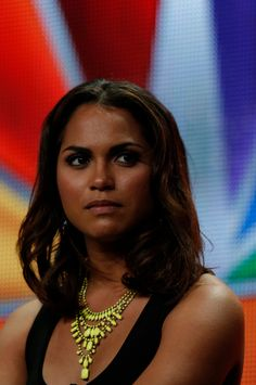 """NBCUniversal Press Tour July 2012 -- """"Chicago Fire Session"""" -- Pictured: Monica Raymund -- (Photo by: Chris Haston/NBC) #ChicagoFire"""