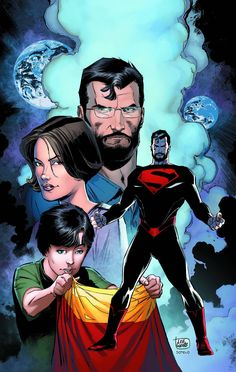 Following the epic events of CONVERGENCE, here are the adventures of the last sons and daughter of the Krypton and Earth as they try to survive in a world not their own. But can they keep this world f